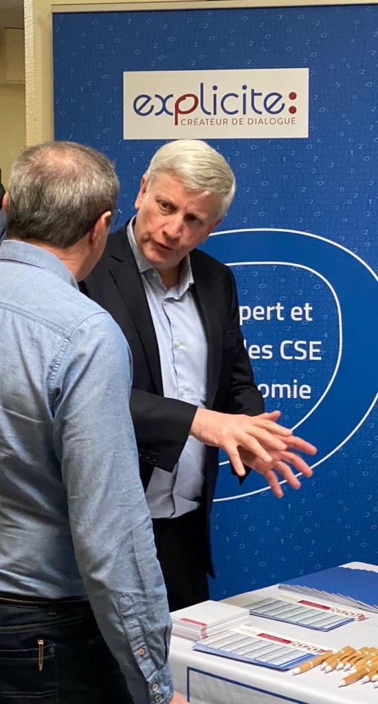 Jean-Marc Lenglart conseille un élu d'un CSE